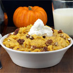 Pumpkin Pie Breakfast Polenta