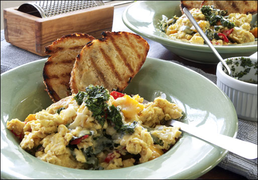 Tuscan Scramble Recipe | MrBreakfast.com