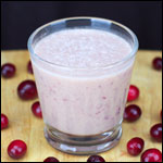Cranberry Sauce Smoothie
