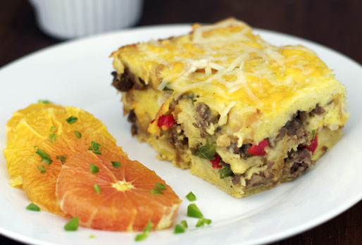 Basic Sausage Breakfast Strata
