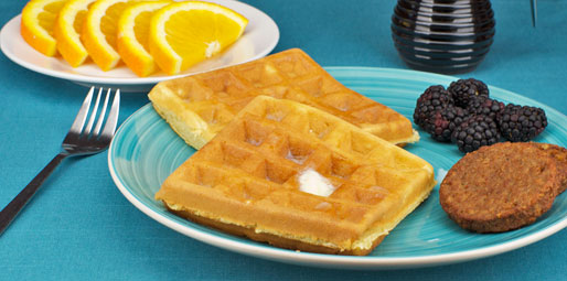 Quick And Crispy Waffles