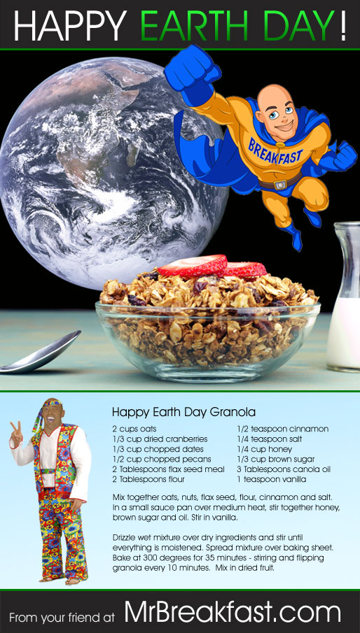 Happy Earth Day Granola