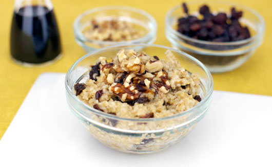 Maple Raisin Steel Cut Oatmeal