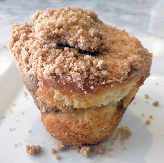Coffee Cake Muffin Nutrition