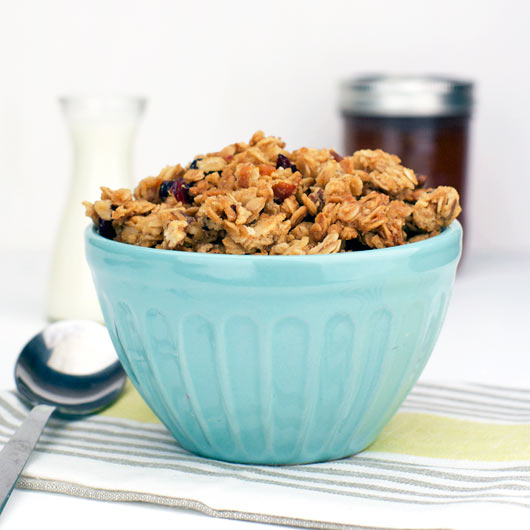 Orange Marmalade Granola