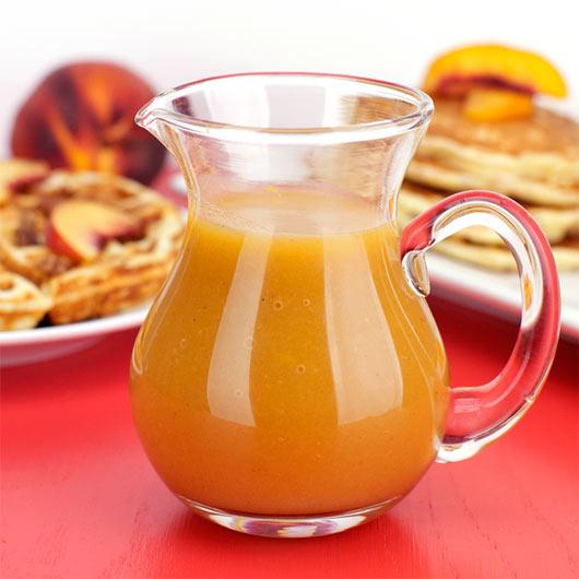 Peach Pancake Syrup