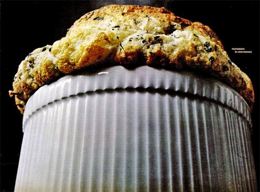 Vintage Spinach Souffle