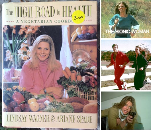 Cookbook By Lindsay Wager (The Bionic Woman)