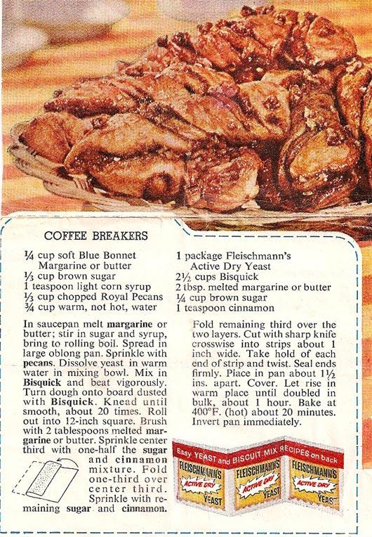 Coffee Breakers Twisted Cinnamon Rolls Recipe