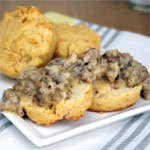 Stone Age Biscuits And Gravy