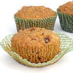 Muffins di allattamento per frutta e noci