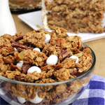 Twice-Baked Carrot Cake Granola