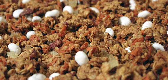Field Of Carrot Cake Granola