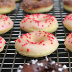 Mini Baked Cake Donuts