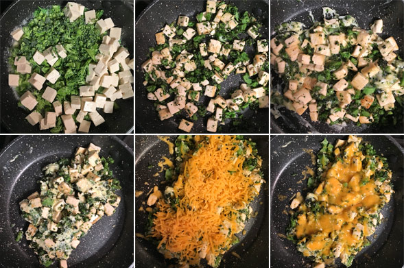 Making a Broccoli Tofu Scramble
