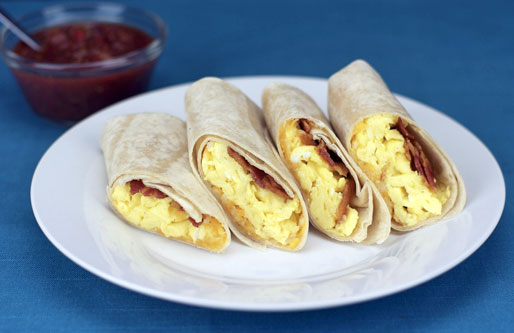 Breakfast Tortilla Wrap Recipe Mrbreakfast Com