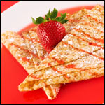 Strawberry Crepes Supreme