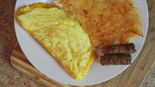 Cheese Omelette Recipe | MrBreakfast.com