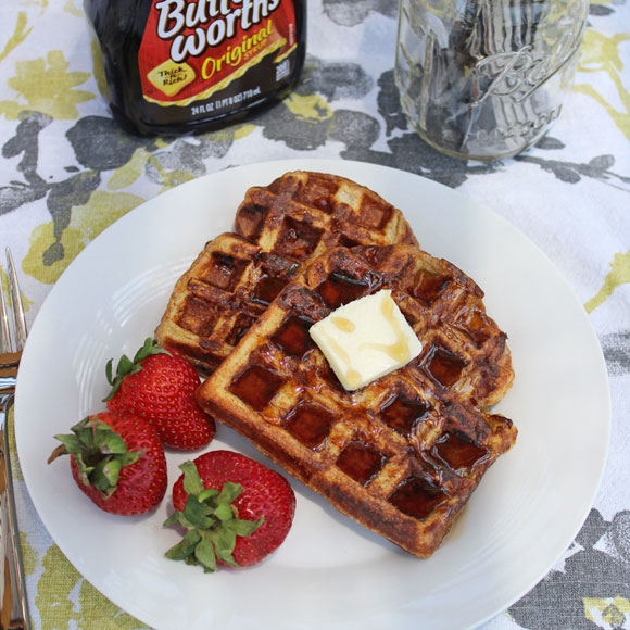 how to make cinnamon french toast waffles pre heat waffle
