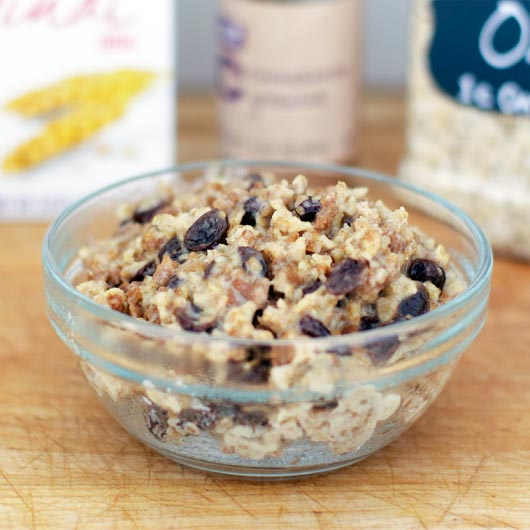 Cinnamon Raisin Grape-Nuts Oatmeal