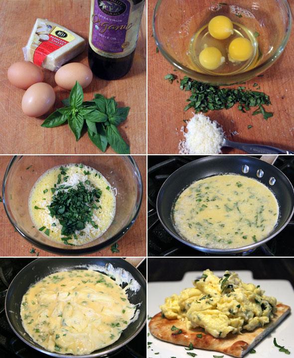 how to say scrambled eggs in italian