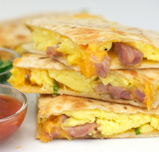 Ham cheese breakfast quesadillas recipe mrbreakfast ham cheese breakfast quesadillas forumfinder Gallery