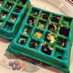 Blue Corn Waffles