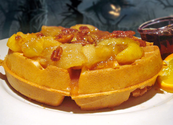 Double Apple Waffles