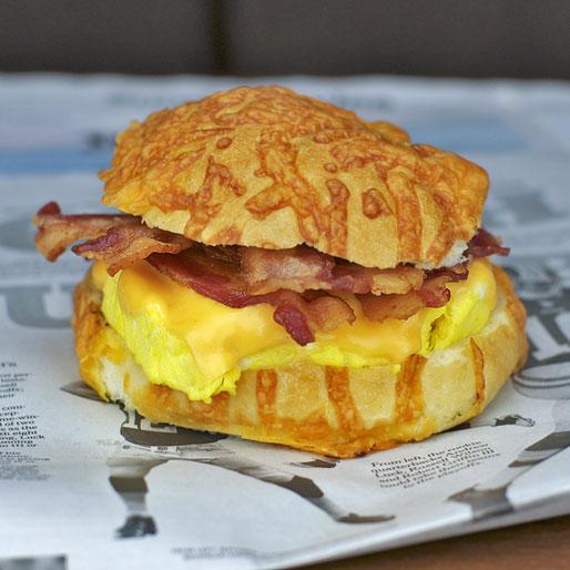 Big Texas Breakfast Sandwich