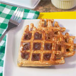 Honey & Whole Wheat Waffles