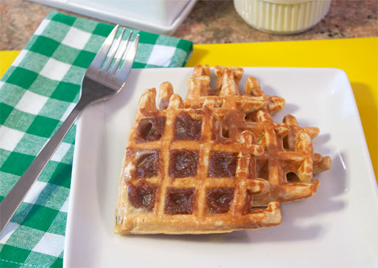 Honey And Whole Wheat Waffles