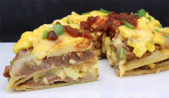 Breakfast Tortilla Double Stack