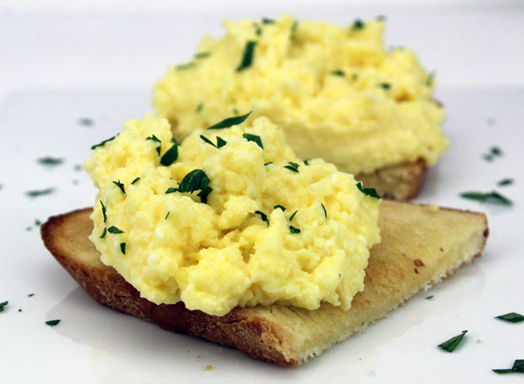 World's Creamiest Scrambled Eggs