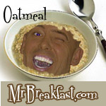 Low-Carb Mock Oatmeal