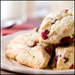 Christmas Cranberry Scones