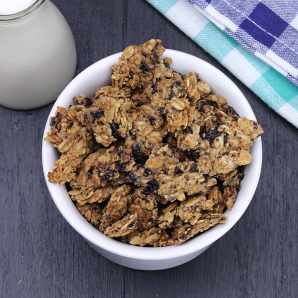 Fruit And Nut Granola Clusters Recipe