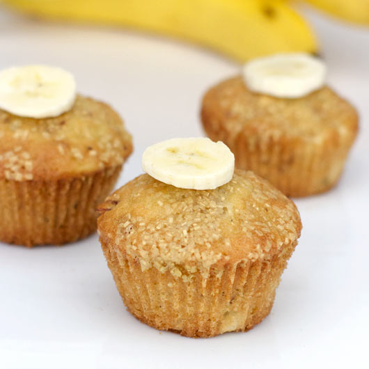basic banana muffin where the banana is the star. This is a great ...