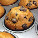 Cinnamon Chocolate Chip Muffins