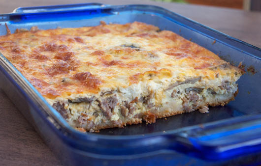 Texas Breakfast Casserole