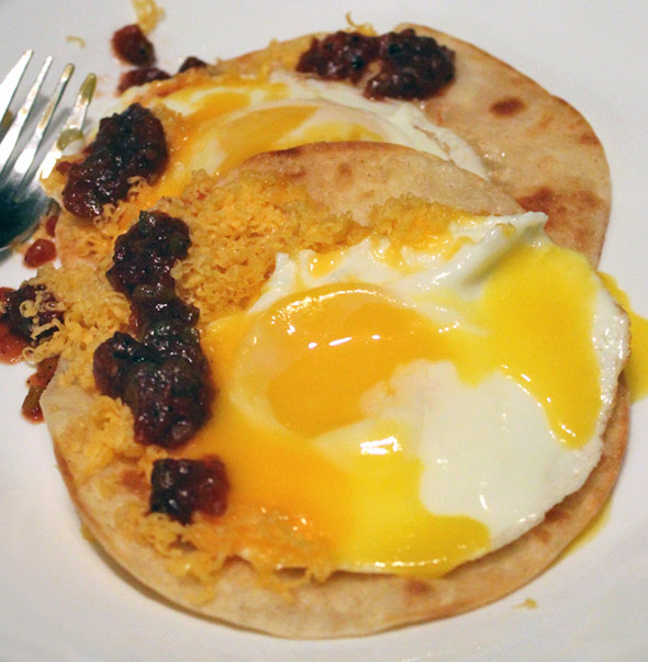 how to make sunny side up