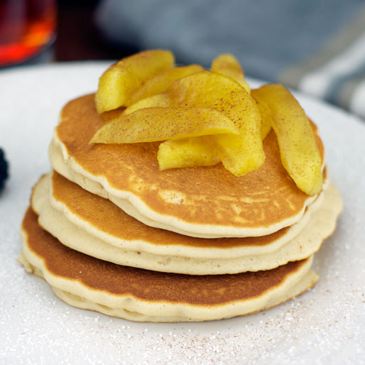 Apple Cinnamon Pancakes Egg Free And Dairy