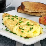 40 Second Omelet