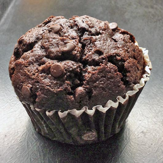 Double Chocolate Muffins Recipe Mrbreakfast Com