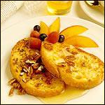 Honey Custard French Toast