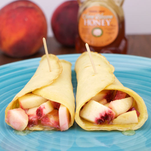 Low-Fat Honey Crepes
