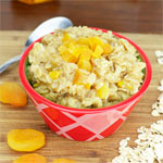 Apricot Honey Oatmeal