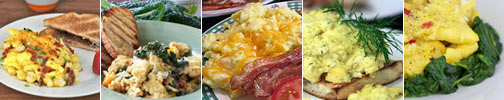 More Scrambled Egg Recipes