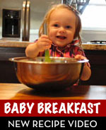 Baby Breakfast Zucchini Bread Recipe Video