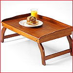 Cherry Wood Bed Tray