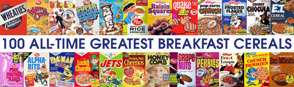100 All-Time Greatest Breakfast Cereals